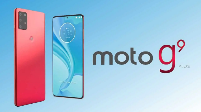 Moto G9 Plus Attached By Spanish Online site