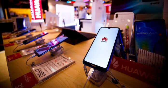 Dominance in China had driven Huawei to pole position in smartphones