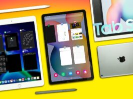 Comparison between IPad(7th generation) and Samsung Tab S6 lite