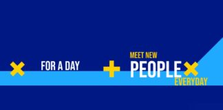 """For a Day"" is an app where you can meet new people everyday, yes, literally a new person every day."